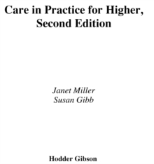 Image for Care in practice for Higher