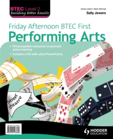 Friday afternoon BTEC first performing arts