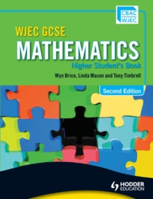 Image for WJEC GCSE mathematics: Higher student's book