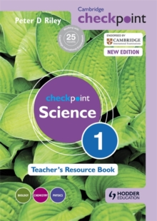 Image for Checkpoint science1,: Teacher's resource book