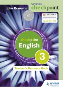 Image for Cambridge Checkpoint English Teacher's Resource Book 3
