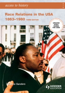 Image for Race relations in the USA 1863-1980