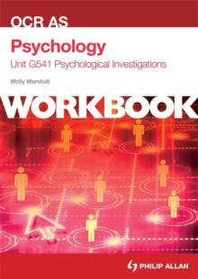 Image for OCR AS psychologyUnit G541,: Psychological investigations