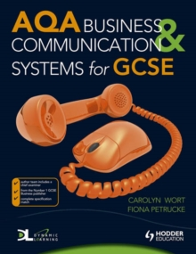 Image for AQA business & communication systems for GCSE
