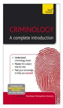 Image for Criminology: a complete introduction
