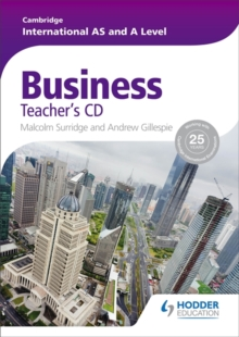 Image for Cambridge International AS and A Level Business Teacher's CD