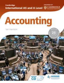 Image for Cambridge International AS and A Level Accounting