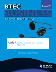 Image for BTEC business level 2 assessment guide.: (Principles of customer service)