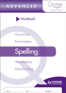Image for Quickstep English Workbook Spelling Advanced Stage