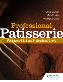 Image for Professional patisserie  : for levels 2,3 and professional chefs