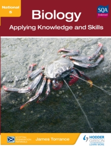 Image for National 5 biology: applying knowledge and skills