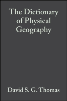 Image for The dictionary of physical geography