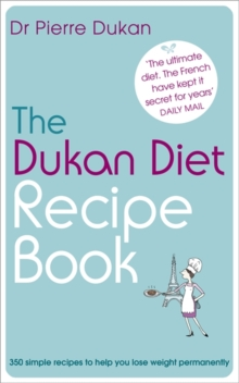Image for The Dukan diet recipe book