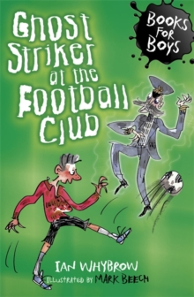 Image for Ghost striker at the football club