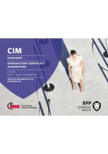 Image for CIM Introductory Certificate in Marketing : Passcards