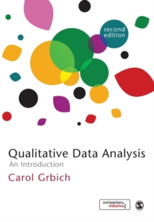 Image for Qualitative data analysis  : an introduction