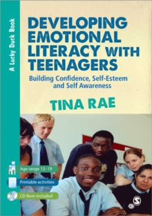 Image for Developing emotional literacy with teenagers  : building confidence, self-esteem and self awareness