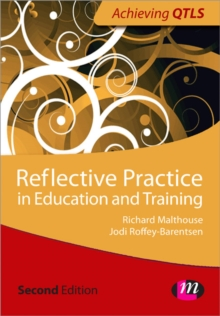 Image for Reflective practice in education and training