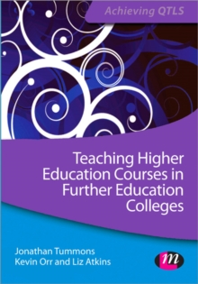 Image for HE in FE  : teaching HE courses in the lifelong learning sector