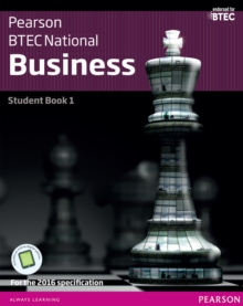 BTBTEC Nationals Business Student Book 1 + ActiveBook: For the 2016 specifications - Phillips, Jenny