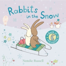 Image for Rabbits in the snow  : a book of opposites