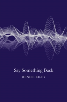 Image for Say something back