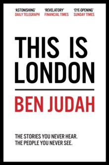 Image for This is London  : life and death in the world city