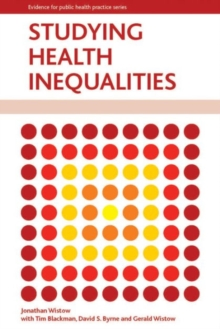 Image for Studying health inequalities