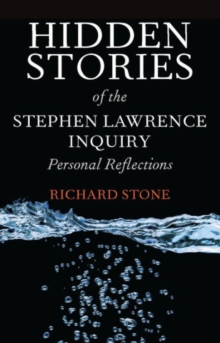 Image for Hidden stories of the Stephen Lawrence Inquiry  : personal reflections