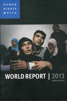 Image for World report 2013  : events of 2012