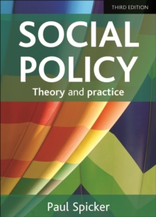 Image for Social policy  : theory and practice