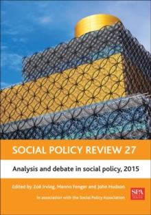 Image for Social policy review27,: Analysis and debate in social policy, 2015