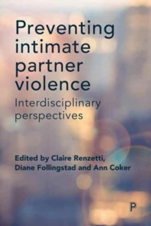 Image for Preventing intimate partner violence  : interdisciplinary perspectives