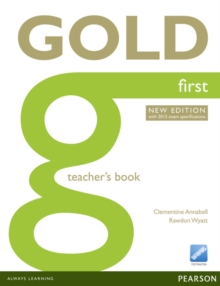 Image for Gold First New Edition Teacher's Book