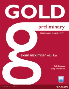 Image for Gold Preliminary Maximiser with Key
