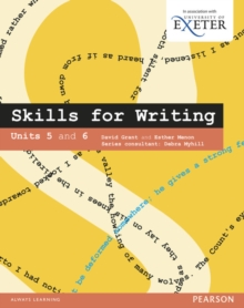 Image for Skills for Writing Student Book Units 5-6