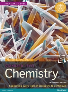 Image for Pearson Baccalaureate Chemistry Standard Level 2nd edition print and ebook bundle for the IB Diploma