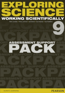 Image for Exploring Science: Working Scientifically Assessment Support Pack Year 9