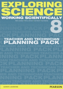 Image for Exploring Science: Working Scientifically Teacher & Technician Planning Pack Year 8