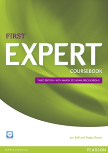 Image for Expert First 3rd Edition Coursebook with CD Pack
