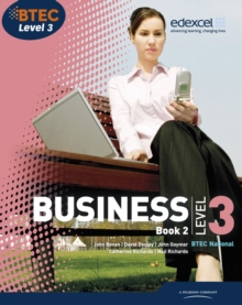 Image for Business, BTEC National level 3.
