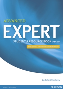 Image for Expert Advanced 3rd Edition Student's Resource Book with Key