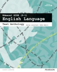 Image for Edexcel GCSE (9-1) English language: Text anthology