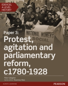 Image for Paper 3 - protest, agitation and parliamentary reform, c1780-1928: Student book + ActiveBook