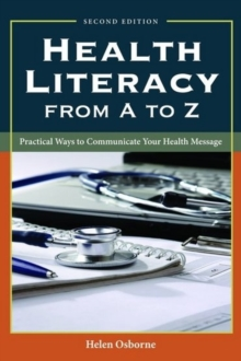 Image for Health Literacy From A To Z