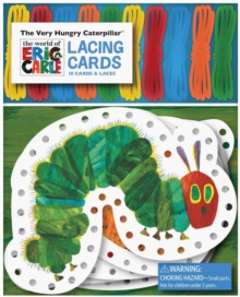 Very Hungry Caterpillar Lacing Cards