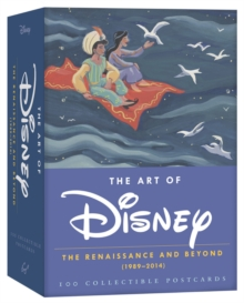 Art of Disney 2015 Postcard Box