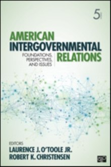 Image for American Intergovernmental Relations : Foundations, Perspectives, and Issues
