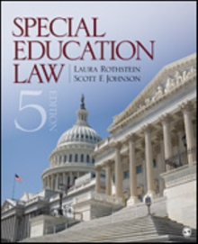Image for Special education law