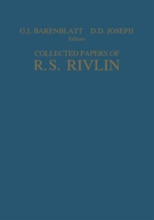 Image for Collected Papers of R.S. Rivlin : Volume I and II
